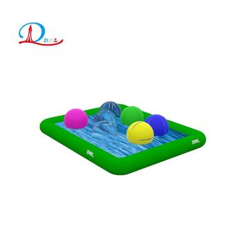 DNL customized outdoor inflatable swimming pool