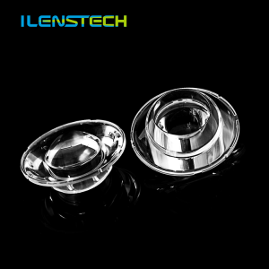 3535 3030 led optical lens 3 degree collimating lens lighting optics lens 52mm diameter