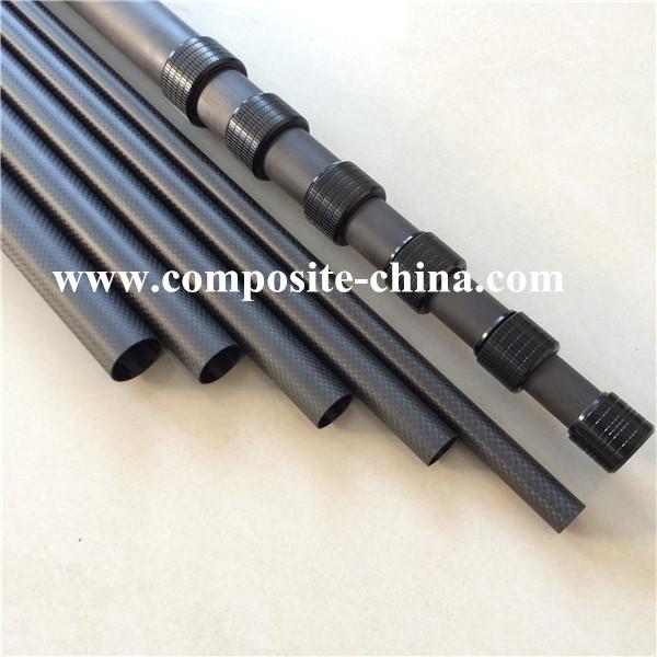 Lightweight Carbon Fiber Microphone Extension Boom Poles