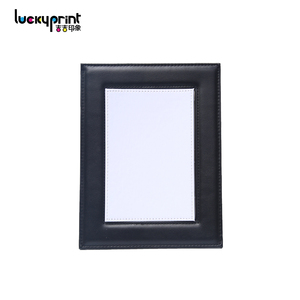2018 Factory Custom Leather Picture Frame, Sublimation Leather Blanks