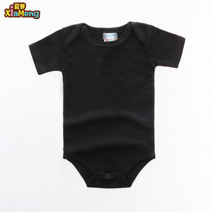 6bf3df3773d2 OEM 100% cotton plain blank blue red grey yellow rose red black white baby  onesie