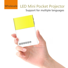 Mini pocket projector,portable Led projector home theater, Be used for Smartphone tablet laptop