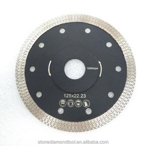 "5"" with 22.23mm diamond cutting blades for stone"