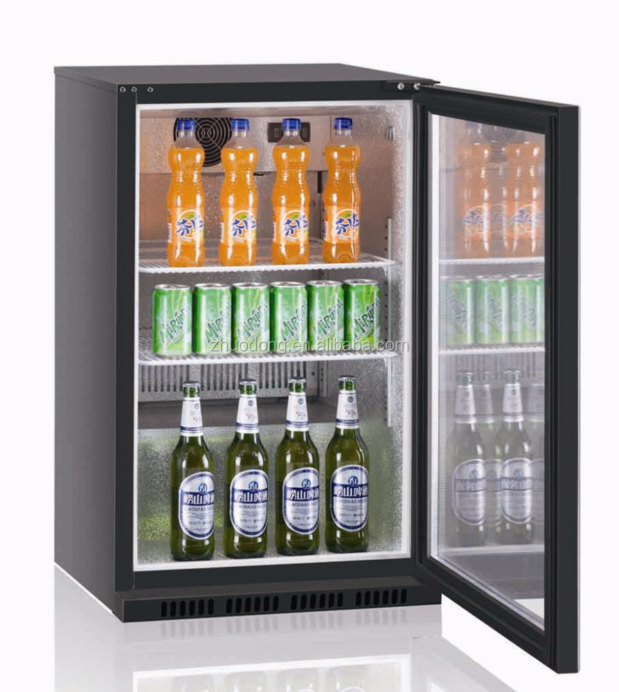 glass door kitchen display fridge smart monster energy refrigerator