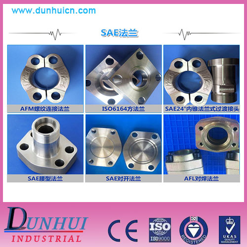 stainless steel carbon steel SAE hydraulic split flanges