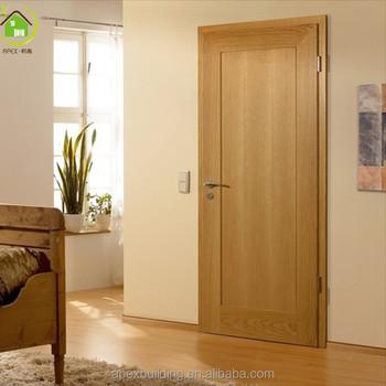 Portes Pour Hôtel/chambre Intérieur Plaqué Pas Cher Prix Affleurant Porte  En Bois - Buy Peau De Porte En Placage De Bois,Porte En Bois Bon ...