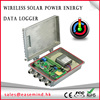 Wireless Solar Power gsm sms generator controller Energy Data Logger