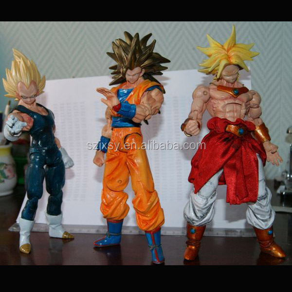 Collectible Japanese Dragon Ball Goku Super Figure Statue For Pop Sale