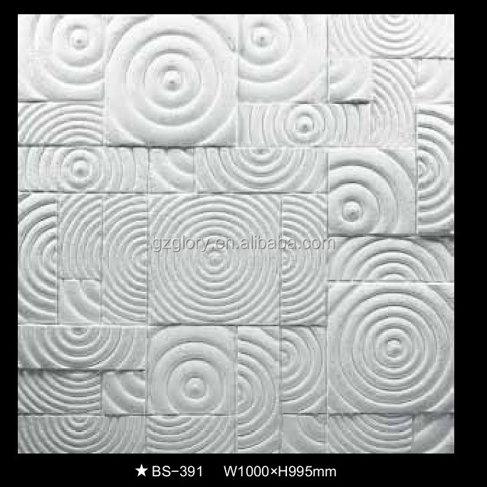 Decorative Plaster Relief Wall