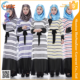Zakiyyah 1008 2016 Latest Design Women Jubah Wholesale striping Designs Muslimah Long Sleeves Dresses with Black Belt