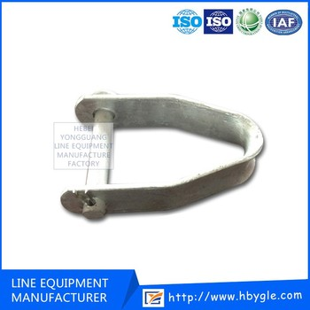 Used in Low Voltage D iron bracket link the insulator/D bracket/MADE IN CHINA