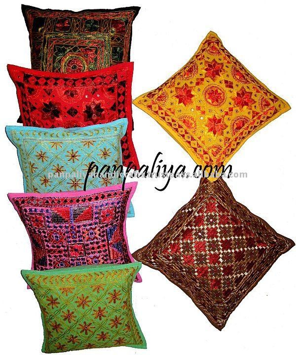 Decorative India Tribal Embroidered Pillow Covers Wholesale Lot
