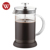 Stainless Steel and Heat-Resistant Borosilicate Glass Coffee Press French Tea Press