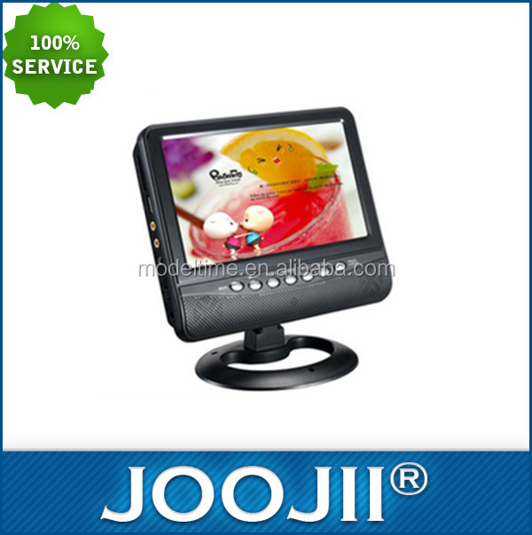 Good Quality Hot Sell 9 Inch Portable TV High Resolution Color TFT LCD 16:9 Screen Mini Portable TFT LED TV With FM Radio