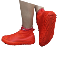 Newest design anti-slip waterproof silicone shoes cover boots for rainy snowy day
