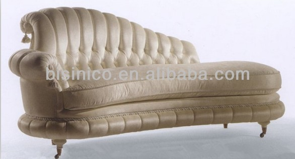 Piano Shape White Sofa Couch