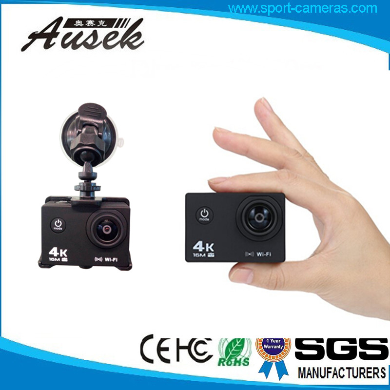 4K &30fps waterproof Rechargable 900mA battery fhd 1080p car camera dvr video recorder with motion detection