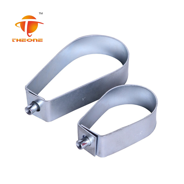 Loop Hanger Pear Type Hose Clamp With M8 M10 As Request