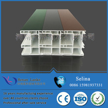 High Quality extruded plastic profile For PVC window and door