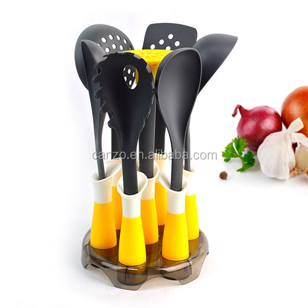 7- 피스 나일론 주방기구 세트 요리 도구의 ABS 보유자-기구-상품 ...