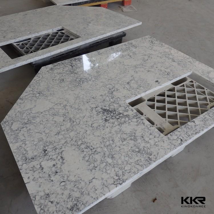 Custom made cut to size countertop molded vanity tops with - Custom size bathroom vanity tops ...
