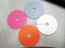 Food Grade embossed plastic token coins