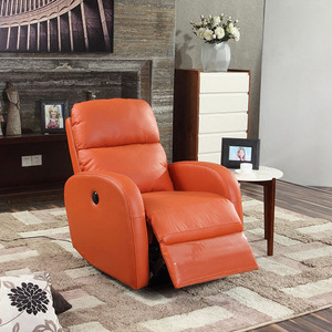Modern Cheap Good Quality Comfortable Single Seater Sofa Chairs, Lazy Boy Electric Leather Recliner Charis