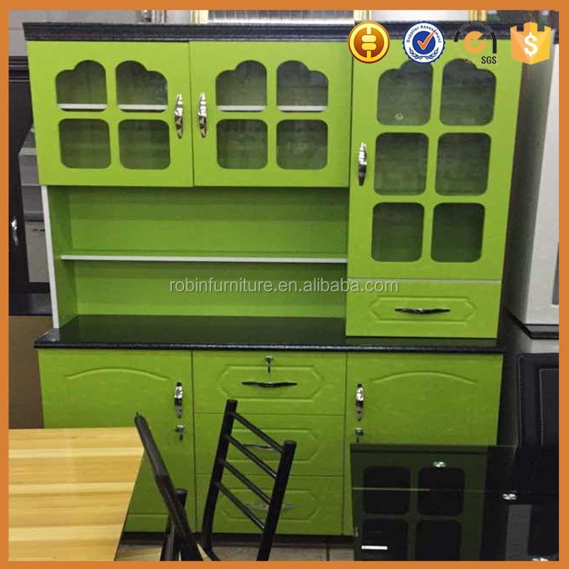2017 mdf lacado mueble cocina color cereza de china fabrica-Cocinas ...