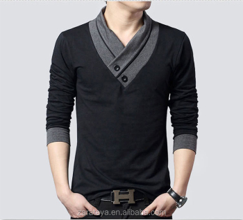 2016 New Design China Supplier Mens Fashion Long Sleeves Specially ...