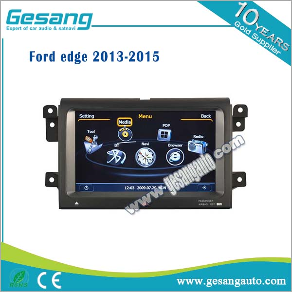 Factory OEM car dvd player car radio for Ford edge with 3g wifi 1080P bluetooth DVR BT IPOD AM /FM