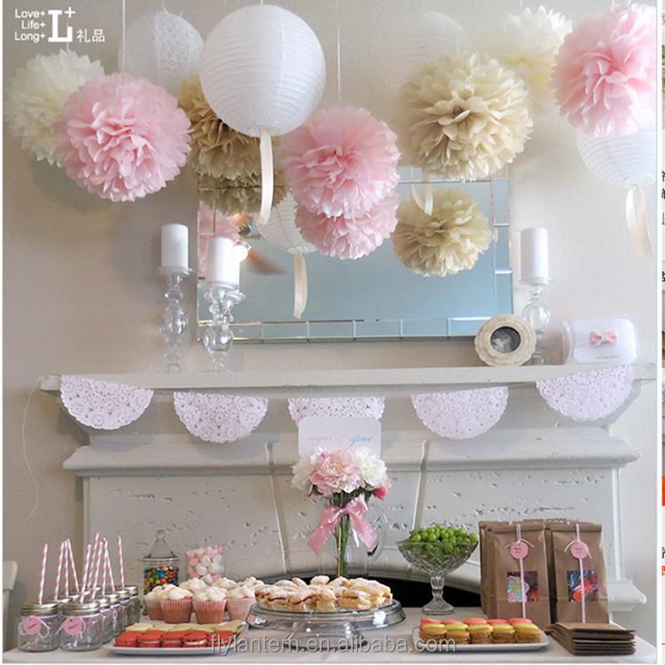 Hot Sale 8 20 Cm Diy Paper Flower Hanging Flower Balls For Wedding