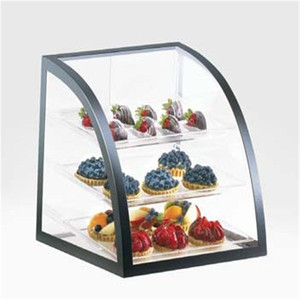 Factory directed sale clear Acrylic food Box cookies display box