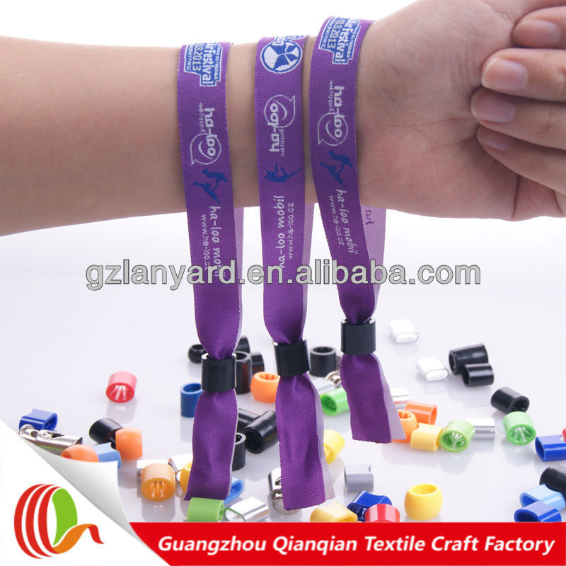 2017 Festival party DIY plastic wrist bands