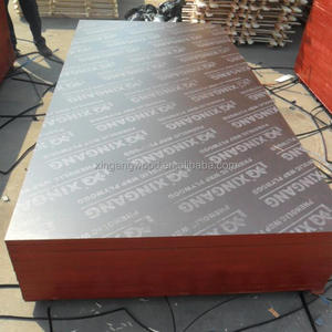 16mm 17mm 18mm 20mm 1250*2500 construction film faced plywood