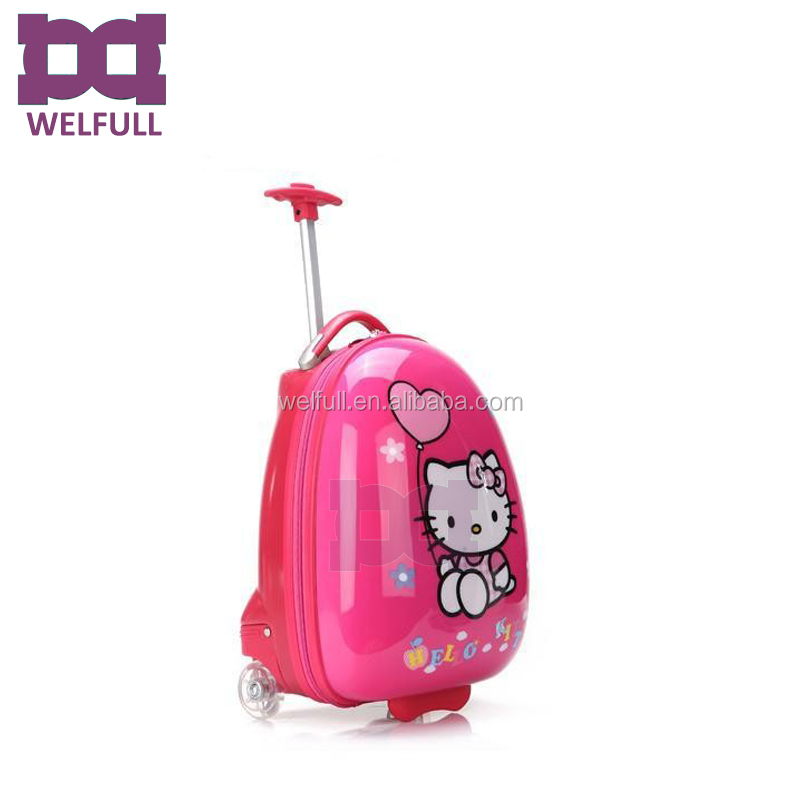 85da6a51ed0e Pink vintage hello kitty mini kids hard shell suitcase box bag for child