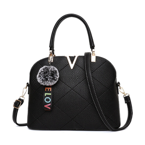 black leather ladies handbag online shopping