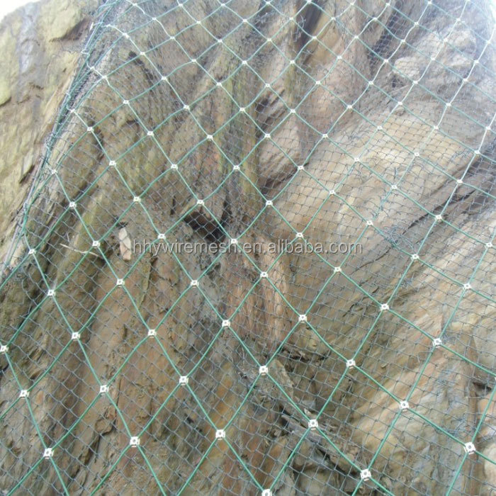 rockfall mesh Active Slope Protection System Spider Spiral Rope Mesh Net Rockfall Netting