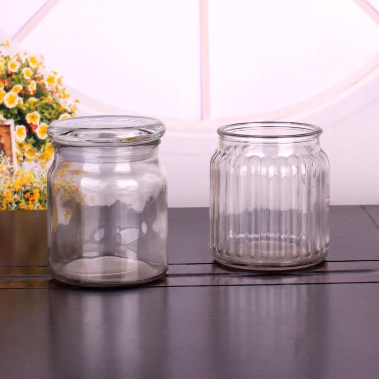 Tarro De Cristal Hermético De Almacenamiento Tarros Acanalados De 550ml Con Tapas De Vidrio Buy Frasco De Vidrio Con Tapa De Corcho Frasco De Vidrio De Almacenamiento Frasco De Vidrio De Almacenamiento 550ml Product