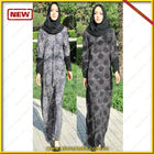 Arrival 2016 styles TWO face muslim women long dress kaftan caftan