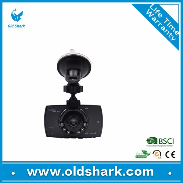 Old Shark Full HD 1080P Dash Cam 170 Degree Wide Angle 3 Inch Dashboard Camera Vehicle Recorder Support G-Sensor, Night Vision