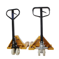 2 ton china warehouse forklift manual hydraulic trolley hand lift pallet truck