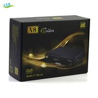 2016 Full HD DVB-S2+T2+C 3 in 1 Combo V8 Golden Digital Satellite Receiver V8 Golden cable tv decoders