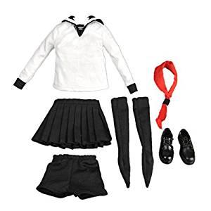 [No brand goods] 1/6 scale Women's clothes schoolgirl sailor gift