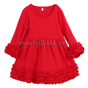 Leuke Voordelige Kinderkleding.2019 Nieuwe Model Winter Icing Ruche 6 Jaar Groothandel Katoenen