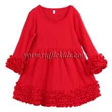 New style children kids cotton frock model 2 year old children girl dress baby frock design pictures