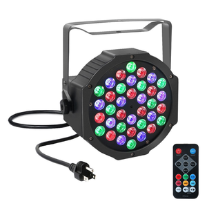 36 LED RGB Par Light DMX512 Stage Light with Remote for DJ Stage Lighting