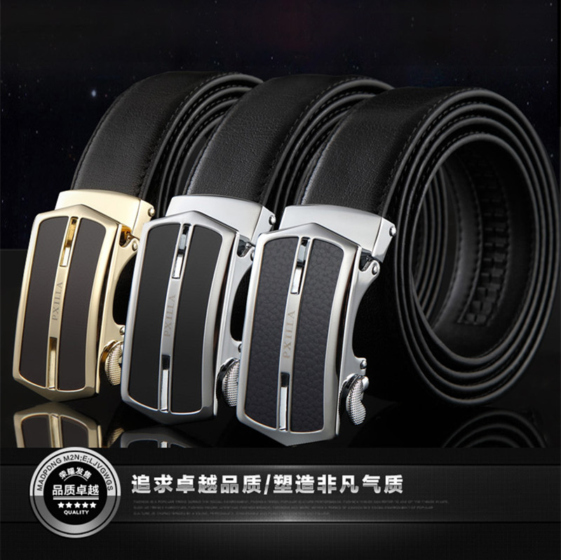Top quality custom logo genuine leather belts for men
