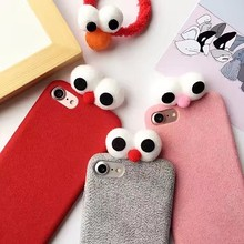for apple iphone 7 winter cute christmas cover case
