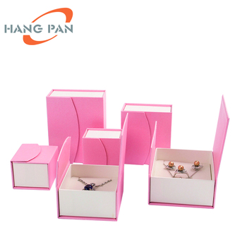 Custom Magnet Cardboard Ring Necklace Bracelet Watch Packaging Boxes Pink Foldable Paper Gift Magnetic Jewelry Box Buy Jewelry Box Cardboard