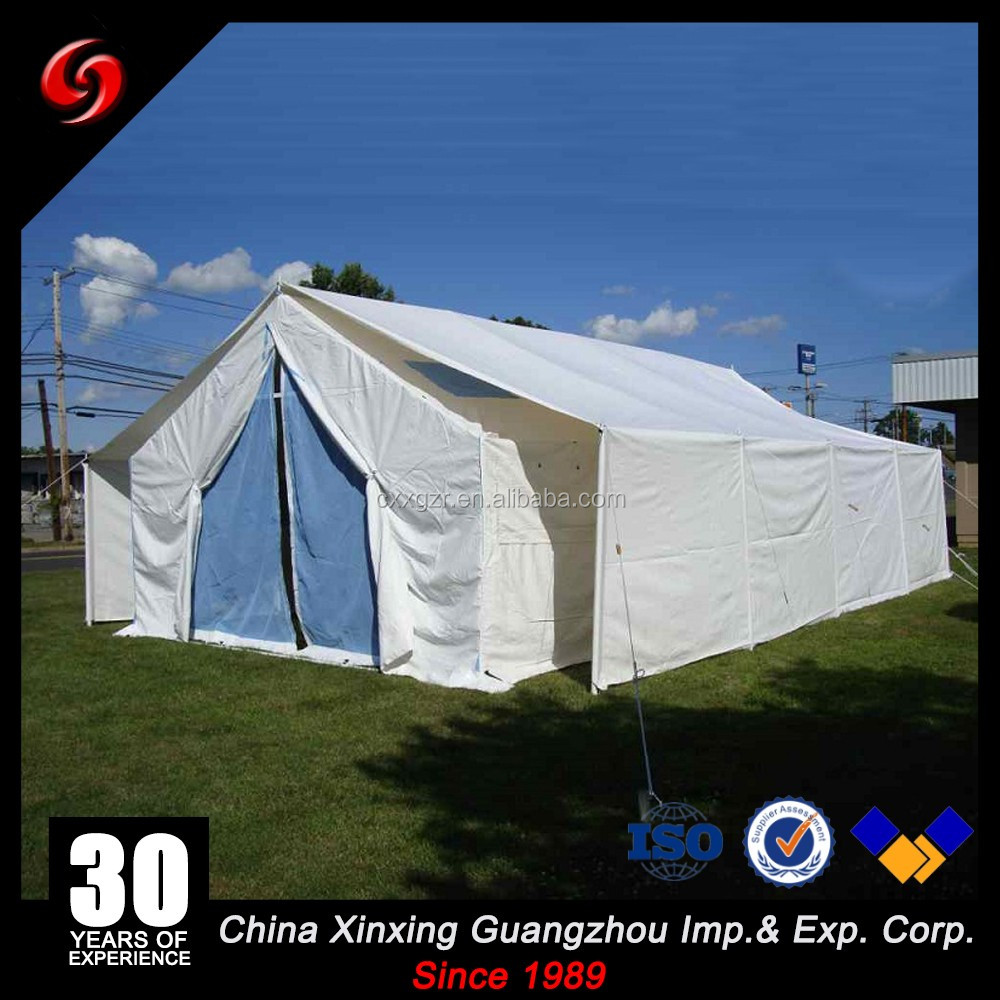 30 50 Man Team Large Capacity wall canvas waterproof tactical military tents